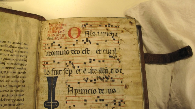 Auckland Libraries, Sir George Grey Special Collections, Med. MS S.1588 - endleaves (front of book)