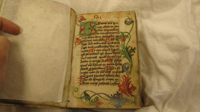 Auckland Libraries MS G. 185 - Beatus page