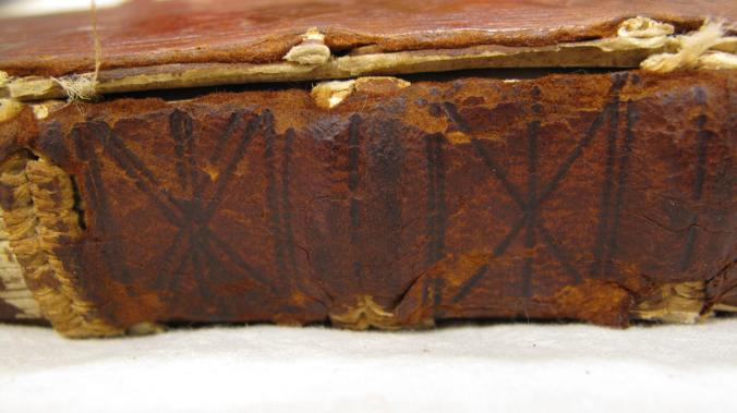 Auckland Libraries, Sir George Grey Special Collections, Med. MS S.287 – original wooden boards