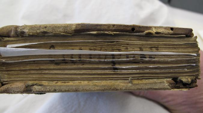Turnbull Library MSR-08 - fore-edge