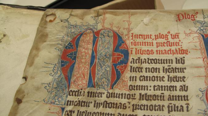 Auckland, St. John's College MS 1 - Opening page